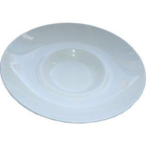 Assiette extra creuse Classique Gourmet 23 cm porcelaine  lot de 6